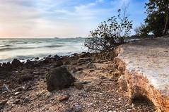 Port Dickson... (KM SNIPER-X) Tags: sony a57 photographer kmsniperx minolta carlzeiss landscape seascape scape sunset sunrise portdickson moment amazing nature rock hdr sky leefilter exposure longexposure slowshutter laut island senawang seremban n9 negerisembilan