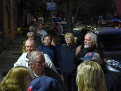 Huge line for the Yardbirds at the Narrows 2016 (wildukuleleman) Tags: the yardbirds narrows 2016 fall river mass ma massachusetts johnny a