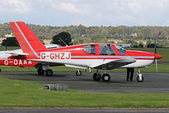 G-GHZJ (QSY on-route) Tags: gghzj rotorsport uk gyro autogyro gyrocopter fly in 2016 wolverhampton halfpenny green egbo 02102016