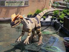 OH Powell - Dinosaur 15 (scottamus) Tags: powell columbus ohio delawarecounty columbuszoo dinosaurisland statue sculpture dinosaur exhibit display