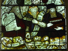 Moses, Abraham & Noah (Aidan McRae Thomson) Tags: york church allsaintspavement yorkshire stainedglass window victorian kempe