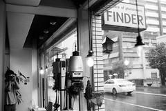 via finder (HiroAranoJPN) Tags: nikonf rolleirpx100 bw selfportrait saga finder