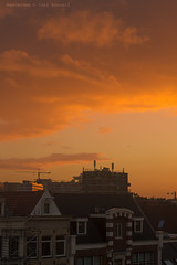 Autumn rise (farflungistan) Tags: canon7d fall2016 amsterdam brouwersgracht holland nederland netherlands sunrise