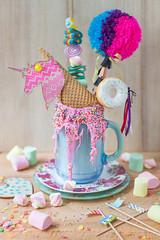freakshakes (lavendars) Tags: food drinks milkshakes freakshake unicorn breakfast