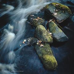 Washing away (Rory Prior) Tags: calderdale autumn moss longexposure rocks yorkshire river hebdenbridge