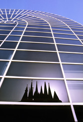 Reflection (Kari Siren) Tags: reflection building sevilla spain lines shape fasady