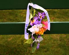 Bench Mom & Nana (dalenewsted) Tags: bench flowers wedding gradma dad nana aggie hawaii weddingbench