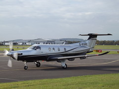 G-KARE Pilatus PC-12 Graham Aircaft Hire Ltd (Aircaft @ Gloucestershire Airport By James) Tags: gloucestershire airport gkare pilatus pc12 graham aircaft hire ltd egbj james lloyds