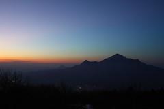 View of Mount Beshtau at sunset (Sergey Kustov) Tags: dusk sunset mashuk elbrus beshtau mountain ridge caucasus panorama view pyatigorsk russia