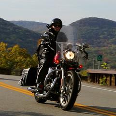 Harley-Davidson 1610164726w (gparet) Tags: bearmountain bridge road scenic overlook motorcycle motorcycles goattrail goatpath windingroad curves twisties