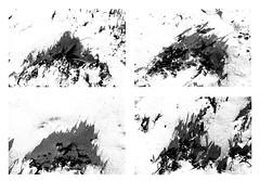 four islands (joei.laut) Tags: joeilaut oktober 2016 4 four vier islands inseln graphic graphisch drawing zeichnen bw sw schwarzweiss blackwhite monochrome diptichon