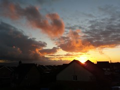 Stormy sunset. (Pat ann 44) Tags: sunset clouds rhoosesouthwales projectweather darksky