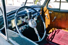 15 Spoke Wheel (Neal3K) Tags: rural vintage oregon buick steeringwheel vintageinterior carinterior