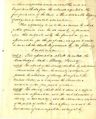 Body of the Constitution of the Cambridge Anti-Slavery Society (Cambridge Room at the Cambridge Public Library) Tags: cambridgemass antislaverymovementsunitedstates muzzeyabartemasbowers18021892