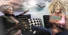 Don't forget the joker (Flit Ulrik // Agent Orange) Tags: secondlife second life sl android robot droid bot cyborg drone dragonlila card game cheating cards playing remote sky shadow lighting curly locks hair shi crossroads kunst bullet necklace ring neurolab psybernetic hand chronos watch short cigarette holder girls female avatar video concept digital design art illustration pattern bueno jacket mesh maitreya slink catwa bolson