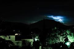 Premier clair (gregory.cornillac) Tags: orage plan de la tour plandelatour clair storm nuit rawtherappe dbutant