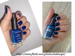Côte D'Azur - Panvel (♥Tutti un po 'di smalto♥) Tags: panvel esmaltes esmalte esmaltepanvel esmalteazul makeup unhas mãos