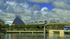 Epcot Monorail (DsnyCpl) Tags: epcotmonorail monorail epcot waltdisneyworld canon70d teamcanon tamron18270mm