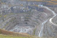 Croft Quarry (lcfcian1) Tags: croft huncote leicestershire view november quarry croftquarry hole stone mining diggers