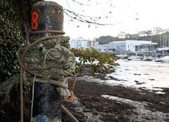 Penryn Quay, Cornwall, (cazzycoffeegirl) Tags: rope quay penryn boat