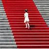 the little princess (Wackelaugen) Tags: rincess girl red carpet stairs gendarmenmarkt berlin germany europe canon eos photo photography wackelaugen