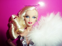 Barbie The Blonds Blond Diamond (Sara.C~) Tags: barbie collector playline label pink black gold doll dolls drew lara the blonds diamond blond withe