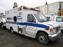 Skagit County Medic One (zargoman) Tags: ambulance aidcar emergency response ford truck northstar medic aid