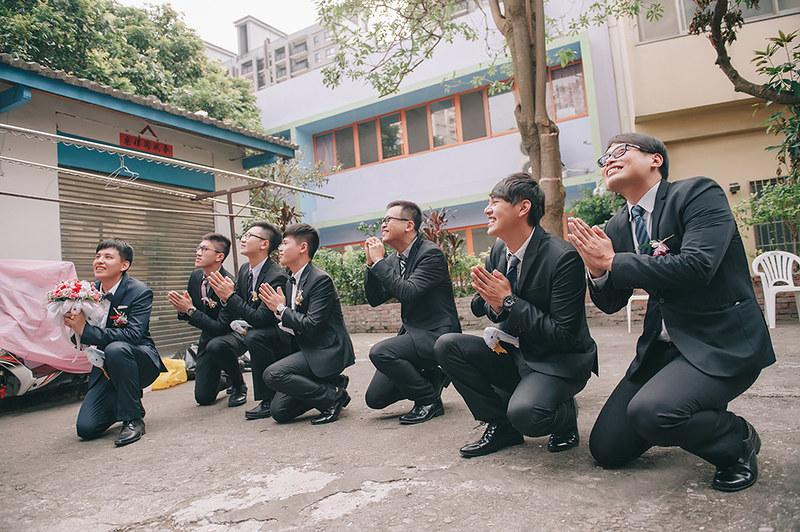 [台中婚攝] 偉倫 & 翌淳 / 潮港城國際美食館