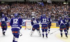 Leksands IF tackar klacken (Michael Erhardsson) Tags: leksandväxjö leksandsif tegeraarena shl 2014 hemmamatch sista omgången omg 55 grundserien match hockey ishockey 20140308 lakers