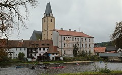 Race Day on the Vltava River 03 (smilla4) Tags: paddling boats race vltavariver moldau rozemberknadvltavou czechrepublic