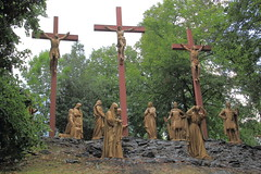 Crucifixion (harve64) Tags: lourdes france pyrenees sanctuary shrine basilica pilgrimage crucifixion