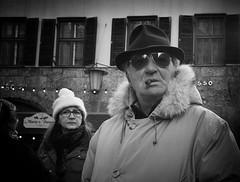 ... (Erwin Vindl) Tags: streetphotography streettogs candid streetportrait blackandwhite bw monochrome innsbruck erwinvindl olympusomd em10markii