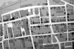 Shelling Damage (jschumacher) Tags: virginia petersburg petersburgvirginia civilwar map blackandwhite