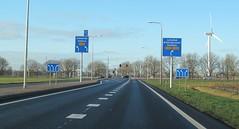 N302-3 (European Roads) Tags: n302 n305 zeewolde harderwijk flevoland 2x2 autoweg nl netherlands
