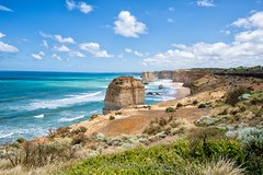 Great Ocean Road (Qicong Lin(Kenta)) Tags: greatoceanroad melbourne australia victoria vic view wideangle water exterior travel outdoor d5 landscape color colour coloris viewingdeck nikon natural nature mountain sea seaside
