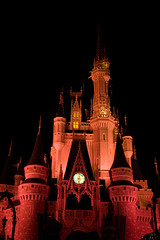 IMG_5698 (onnawufei) Tags: castle night disney disneyworld wdw waltdisneyworld magickingdom cinderellascastle
