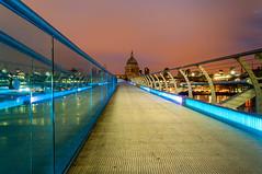 St. Paul's (An Oximoron) Tags: london night cityscapes stpaulscathedral mileniumbridge lfm:eventid=lonwalk2013