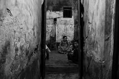Facing one's own (shankarsarkar) Tags: friends india night blackwhite women mother relationship kolkata intimacy westbengal sonagachi redlightarea trafficked