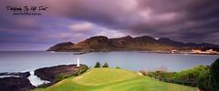 The 7th - Marriott Lagoons Golf Club Kauai Hawaii (Kiall Frost) Tags: longexposure mountains green club clouds marriott sunrise golf hawaii lava hole lagoon le kauai volcanic 7th lihue solidified golfholiday kiallfrost