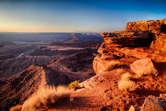 Dead Horse Overlook - Utah (Jackpicks) Tags: dawn utah desert cliffs moab deadhorsestatepark