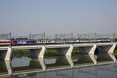 Do you remember??? (Maurizio Zanella) Tags: bridge river italia fiume trains db ponte railways sr aw fs alessandria trenitalia treni autozug ferrovie tanaro e656xxx arenaways e4740023 r2044