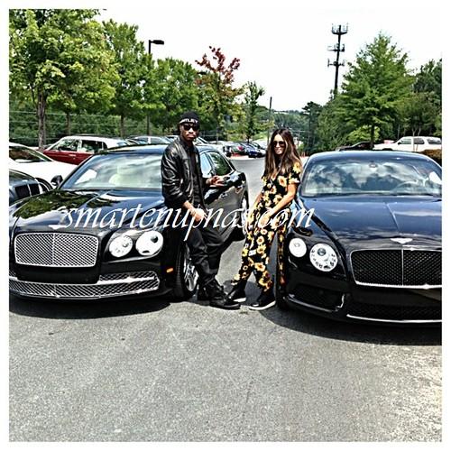 future and ciara drop over $400,000 on matching bentleys