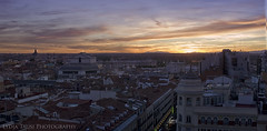 The end of the day (Lydia Tausi Photography) Tags: madrid sky espaa skyline canon atardecer spain colours septiembre eos350d callao comunidaddemadrid plazadecallao 2013 skyfall lydiatausi