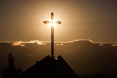 Backed by the Light (Bryan Nabong) Tags: california sun church northerncalifornia backlight afternoon cross unitedstates time religion sanjose northamerica backlit sacredsunday hashtagthemes