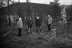 The band in the woods (AmiskhyykkyMedia) Tags: bells forest finland lapland levi thehollow amiskhyykkymedia thehollowpictures