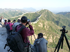 Great Wall Gubeikou to Jinshanling China. (James Holme) Tags: china peoplesrepublicofchina greatwall greatwallofchina explorecouk walkthegreatwall