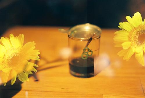 Coffee w. Flowers