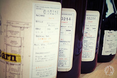 """Trasparenza<br /><span style=""""font-size:0.8em;"""">Le etichette di Laboratorio riportano i dati tecnici necessari alla identificazione della birra: luppoli, IBU, Colore e OG sono riportati su tutte le produzioni e sono aggiornati per ogni batch</span> • <a style=""""font-size:0.8em;"""" href=""""https://www.flickr.com/photos/100654564@N04/10593945163/"""" target=""""_blank"""">View on Flickr</a>"""
