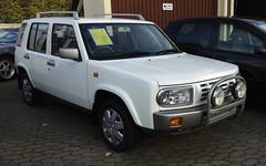 Nissan Rasheen (1995) (Opron) Tags: japan nissan 4x4 1996 1999 bauhaus 1997 1998 1995 1994 suv wartburg formfollowsfunction rasheen ruggedstylebody