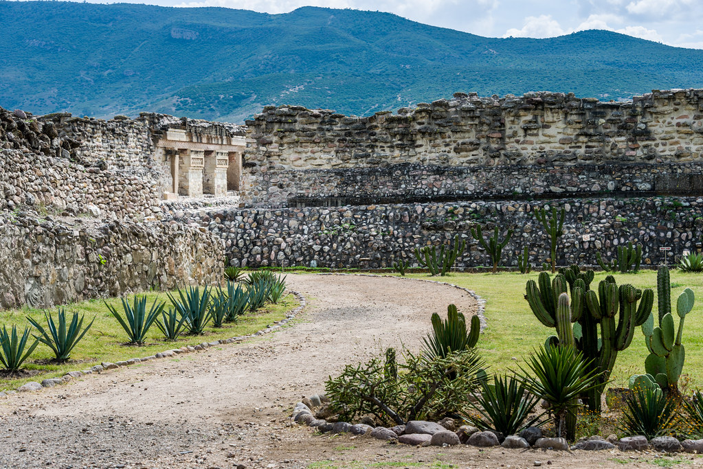 Ruins at Mitla